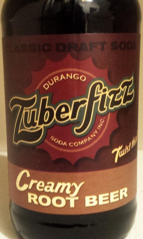 Zuberfizz Creamy Root Beer