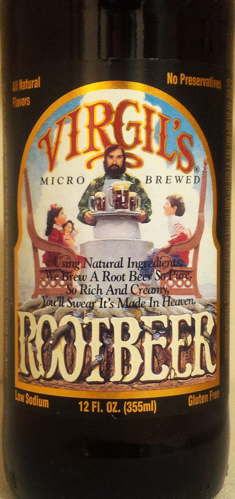 Virgil's Micro Brewed Root Beer