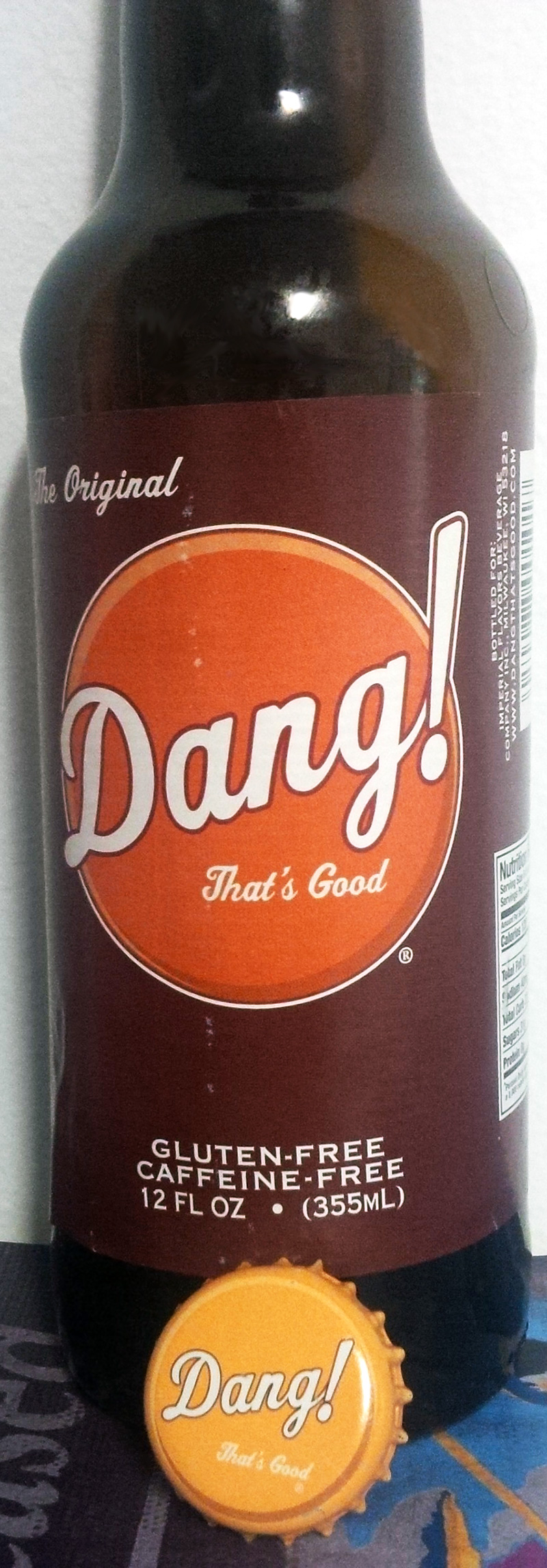 "Dang! That's Good ""The Original"" Root Beer"