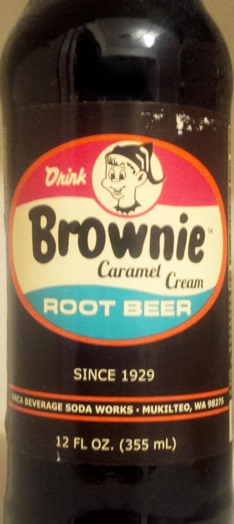 Brownie's Caramel Cream Root Beer