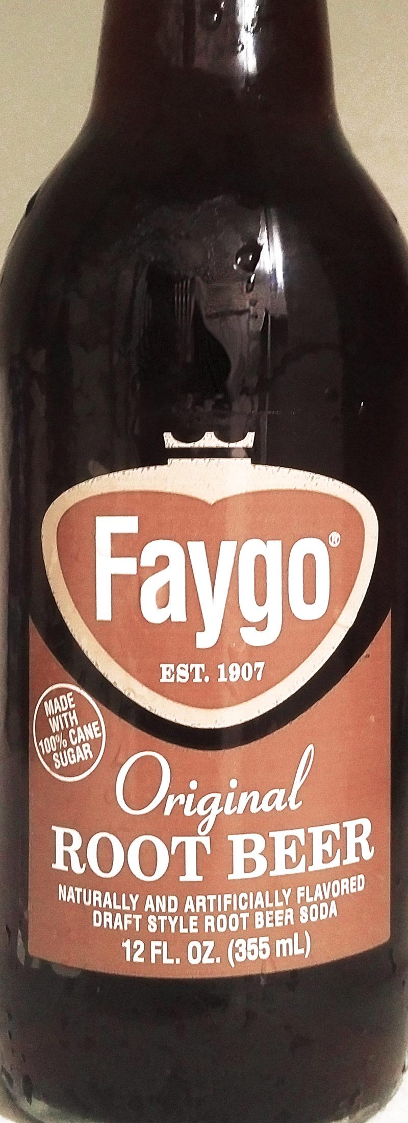 Faygo Original Root Beer