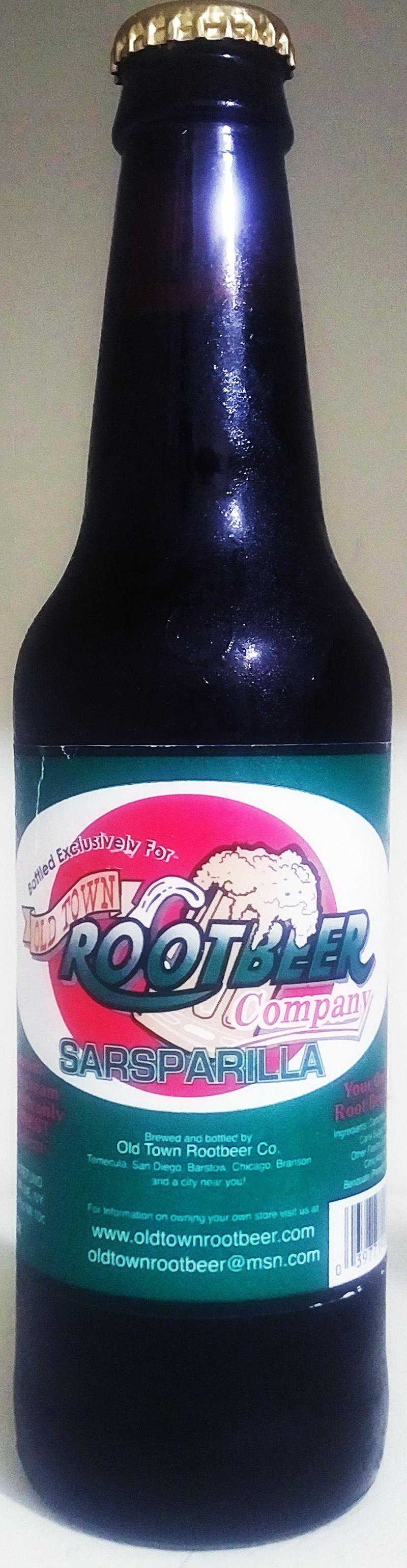Old Town Root Beer